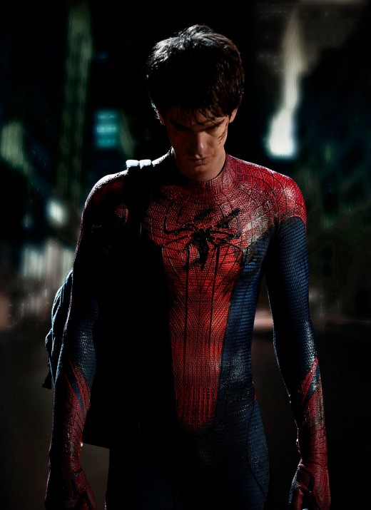 Andrew Garfield in The Amazing Spider-Man (Sony Pictures)