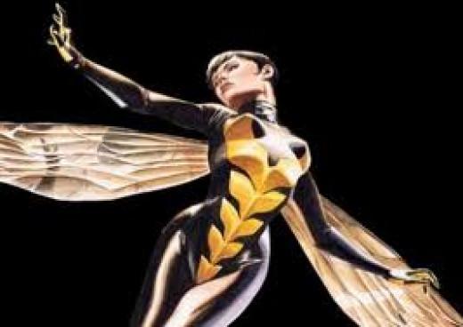The Wasp aka Janet van Dyne (Marvel Comics)