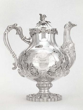 Tea Service Presented to John Leeming, 1851.