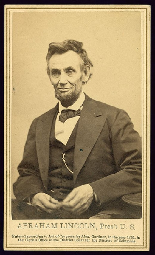 Lincoln's last formal portrait sitting, Feb. 5, 1865, in Washington, D.C.