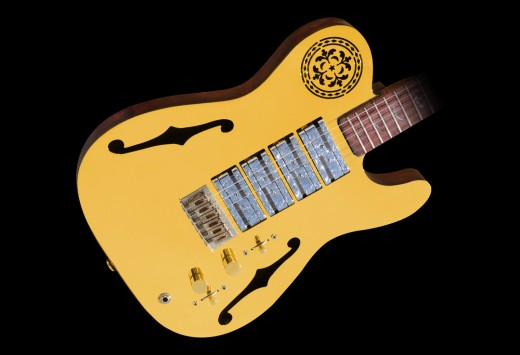 Goldcaster Guitar