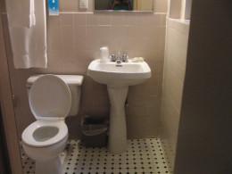 Bathroom of the Hotel Wolcott