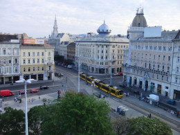 View from the Hotel Room at at Courtyard by Marriott in Budapest