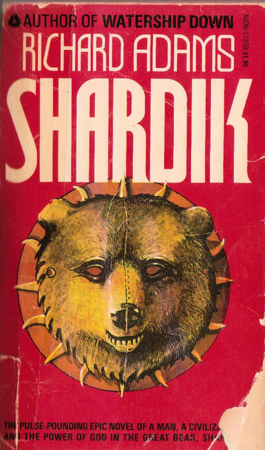 My well worn paperback edition of Shardik by Richard Adams
