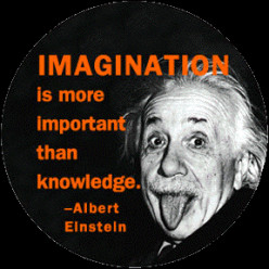 Is Imagination better than knowledge?