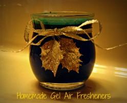 How to Make Homemade Gel Air Fresheners