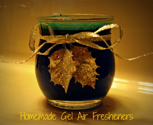 How to make Homemade Gel Air Fresheners.