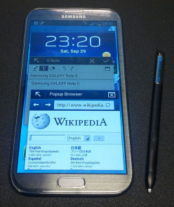 Review of Samsung Note II Smartphone