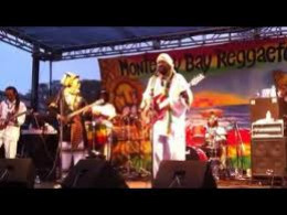 Rastafarians Band Performing at Dreadstock
