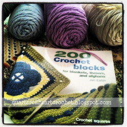 "Book Review: ""200 Crochet Blocks for blankets, afghans, and throws"""