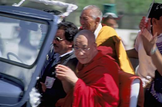 His Holiness, the Dalai Lama