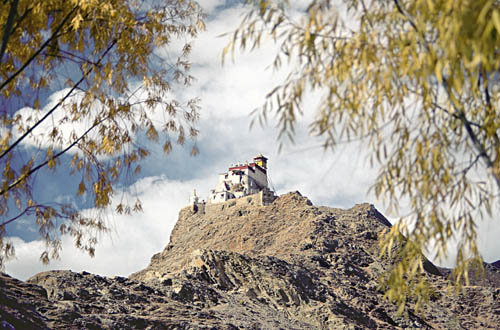 Hilltop monastery, Yarlung, Tibet