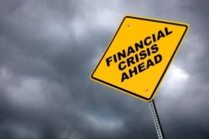 Financial dark clouds