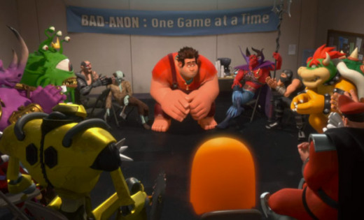 Screen shot from Wreck-It Ralph