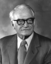 Senator Barry Goldwater whose Suggestion that Social Security be voluntary cost him the 1964 Election for President