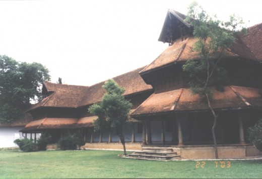 2. Pathmanabapuram Palace in Kerala.