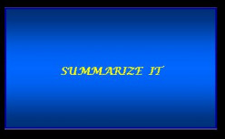 Summaries for Online Article Writing