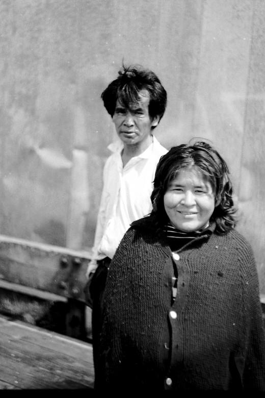 Bongo and Cecilea circa 1974