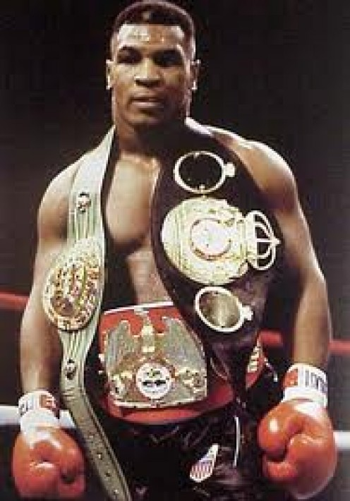 Mike Tyson unified the heavyweight championship by beating Trevor Berbick, Bonecrusher Smith and Tony Tucker.