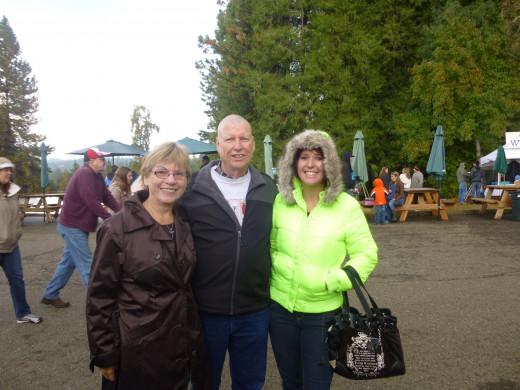 Betty, Gary and daughter, Kristen