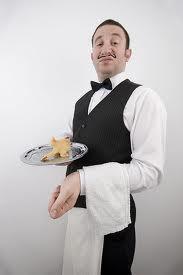 Monsieur. Not garcon.