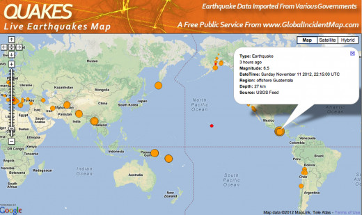 Another large earthquake comes on the heels of the 7.7 one last week that killed 50!
