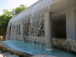 Waterfall entrance