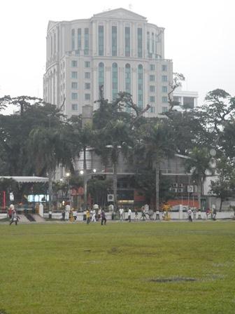 Grand Aston City Hall, situated just across Merdeka Walk