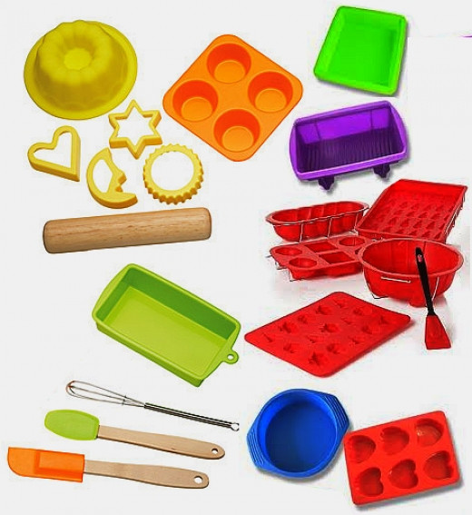 Kitchen Cooking Utensils Set Silicon