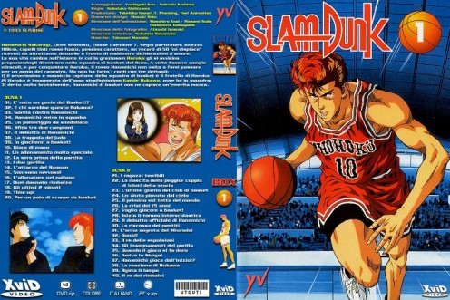 Slamdunk DVD cover