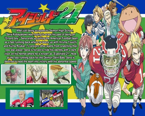 Eyeshield 21 DVD cover