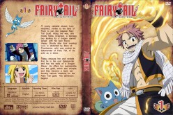 Fairy Tail DVD cover