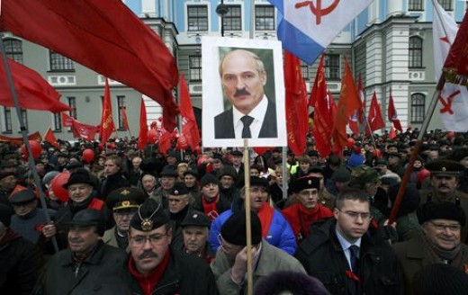 Communist Supporters of the president