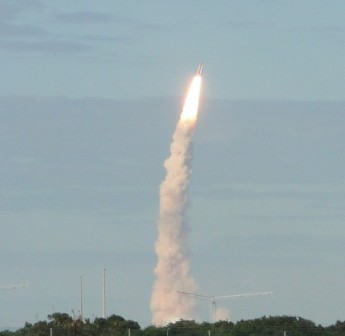 Space Craft taking off-what a moment?