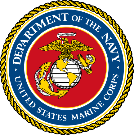 Seal of the United States Marine Corps.