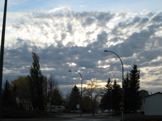 BIG SKY in Brandon - Autumn ending