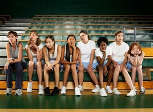 CHEERLEADERS GET LAZY, BUT THAT'S ONLY BECAUSE THEY WORK AS HARD AS THE TEAM THEY ARE ROOTING FOR.