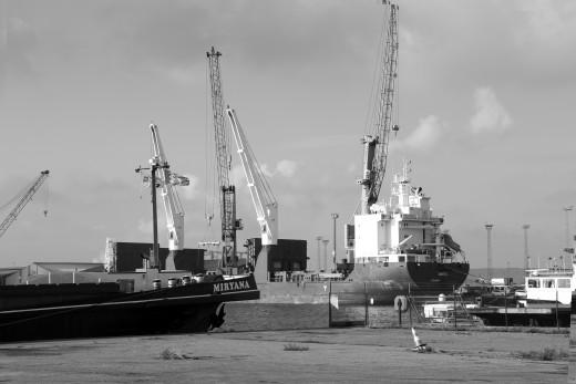 Churchill Dock, Antwerp
