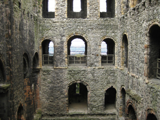 Another view inside the keep