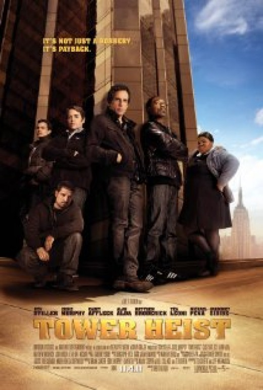 Tower Heist stars Ben Stiller and Eddie Murphy as themselves.
