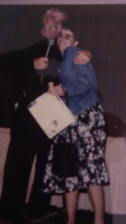 I got a kiss and a hug from James Doohan!!