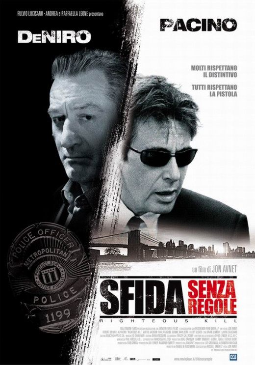 Righteous Kill (2008) Italian poster