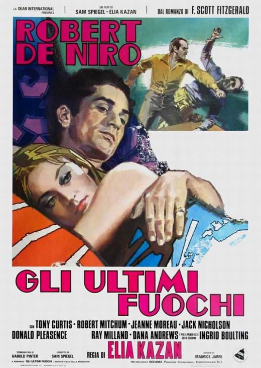The Last Tycoon (1976) Italian poster