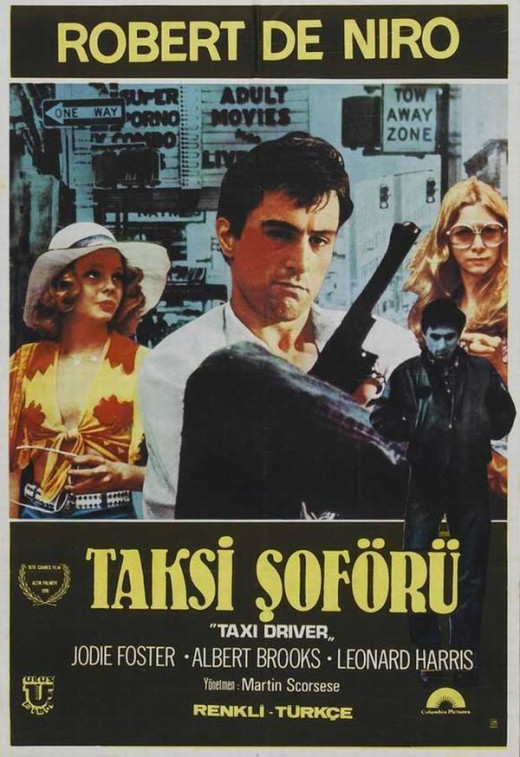 Taxi Driver (1976) Turkish poster