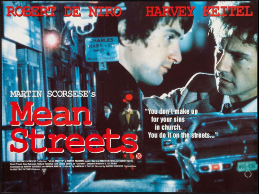 Mean Streets (1973) UK poster
