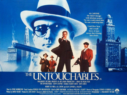 The Untouchables (1987) UK poster