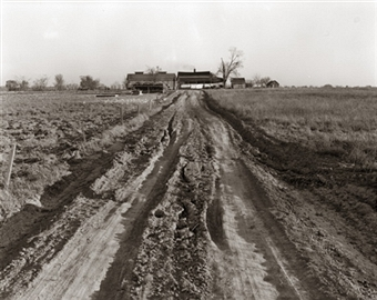 This is pretty much how our farm looked when we were young.
