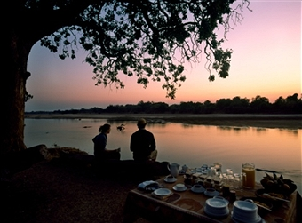Eating supper at dusk by the creek was always a special blessing.