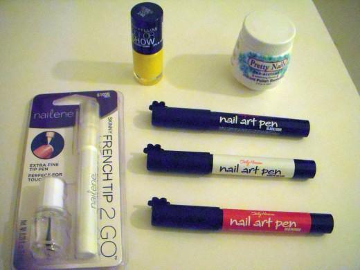 Nail art materials