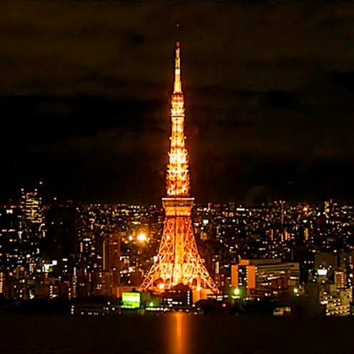 Tokyo Tower: A place for great panoramic view of Tokyo